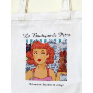 Tote bag La Boutique de Petra