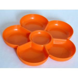 Plat orange 70's en...