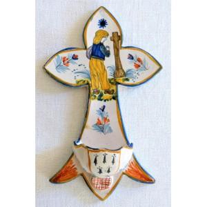 Crucifix benitier HENRIOT...