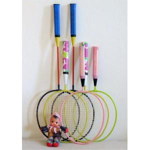 Lot de 6 raquettes vintage...