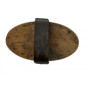 Brosse ancienne en bois et...