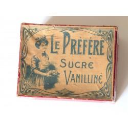 Boite pub LE PREFERE Sucre...