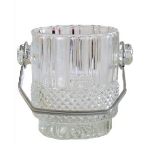 Seau a glace en verre taille