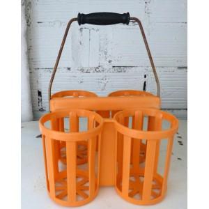 Porte bouteilles orange...