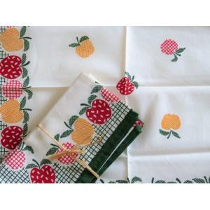 6 serviettes de table...