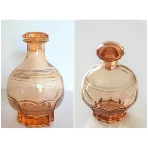 Vase/carafe boule en verre...