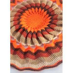 Grand napperon crochet...