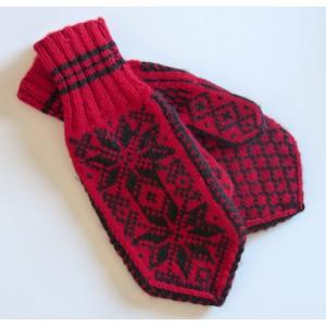 Gants moufles vintage laine...