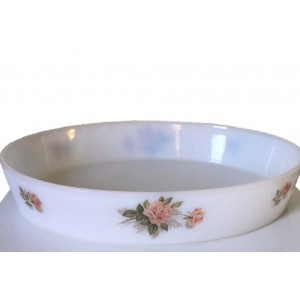 Plat Four Arcopal Roses 60's