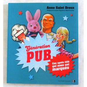 "Livre ""Generation Pub"" TV 80's"