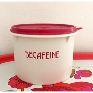 Boite DECAFEINE Tupperware...