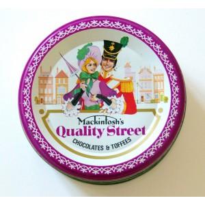 Boite fer Quality Street...
