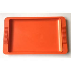 Plateau Delacre orange 70's