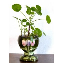 Cache pot Barbotine Tulipes