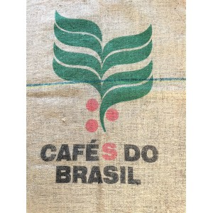 Sac de jute cafe Do Brasil