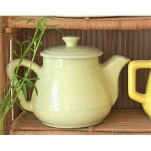 Cafetiere ceramique jaune...