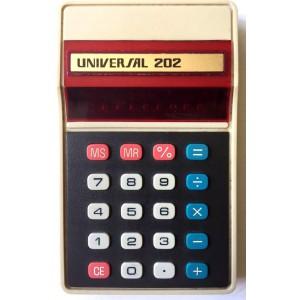 Calculatrice Universal vintage