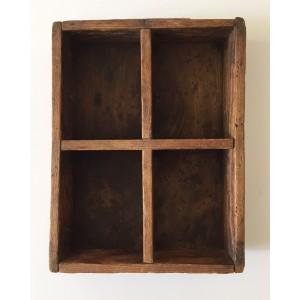 Casier Etagere bois ancien