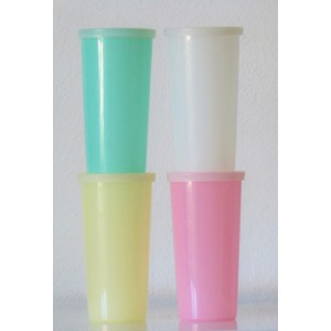 4 gobelets Tupperware 60's...
