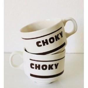 2 Tasses Choky vintage