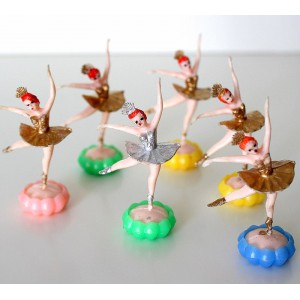 6 Ballerines deco de gateau