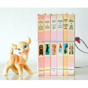 6 Livres deco Bibliotheque...