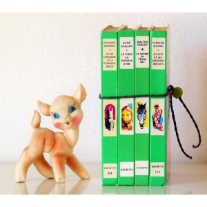 4 Livres deco Bibliotheque...
