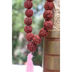 Collier perles vegetales...