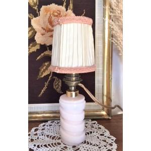 Lampe vintage en opaline...