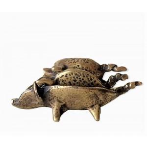 VENDU - Cendriers bronze...