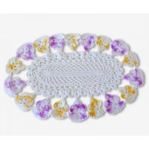 Napperon crochet motif...