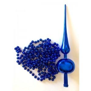 Cimier et Guirlande bleu de...