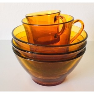 Bols tasses Duralex vintage...