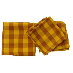 Nappe et serviettes...