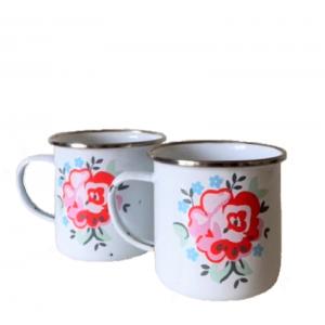 VENDU 2 mugs vintage en...