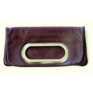 Pochette cuir vintage 70's
