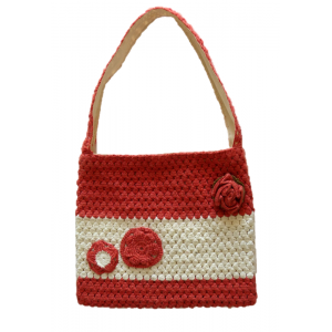 Sac A main crochet orange...