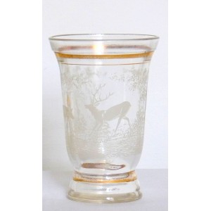 Vase vintage decor Biche...