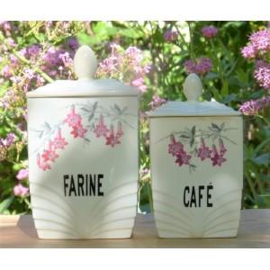 2 Pots a epices anciens,...