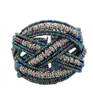 Bracelet manchette perles...