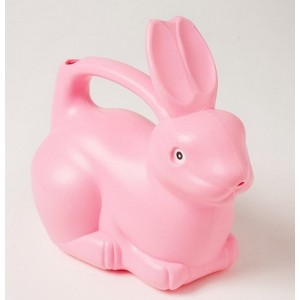 Arrosoir Lapin rose