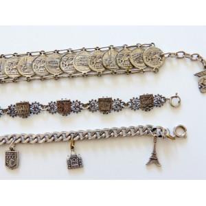3 bracelets vintage...