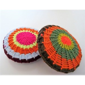2 Galets gommage crochet...