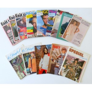 Lot Magazines Tricot...