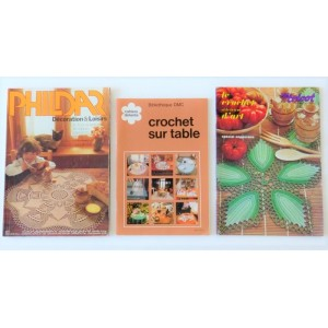 3 Magazines Crochet...
