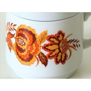 3 Mugs fleuris Monopoli...