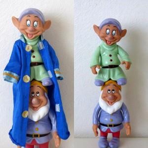 2 Grandes figurines Simplet...