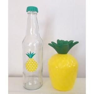 Bouteille et Gourde Ananas