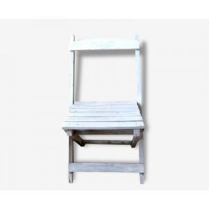 Petite chaise pliante bois...