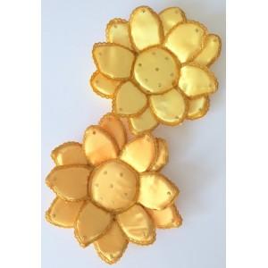 2 Fleurs de Lotus jaune...